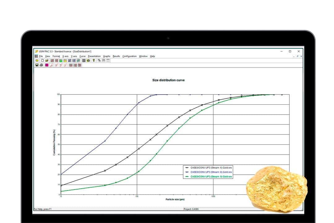 USIM PAC, process modeling and simulation software - CASPEO