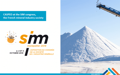 CASPEO at the 68th French mineral industry society congress, SIM