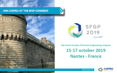 CASPEO at the Congress of the French Society of Process Engineering