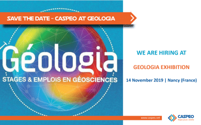 CASPEO is participating to Geologia, Geoscience exhibition