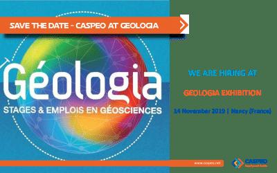 CASPEO participe à Geologia, l'exposition en géosciences