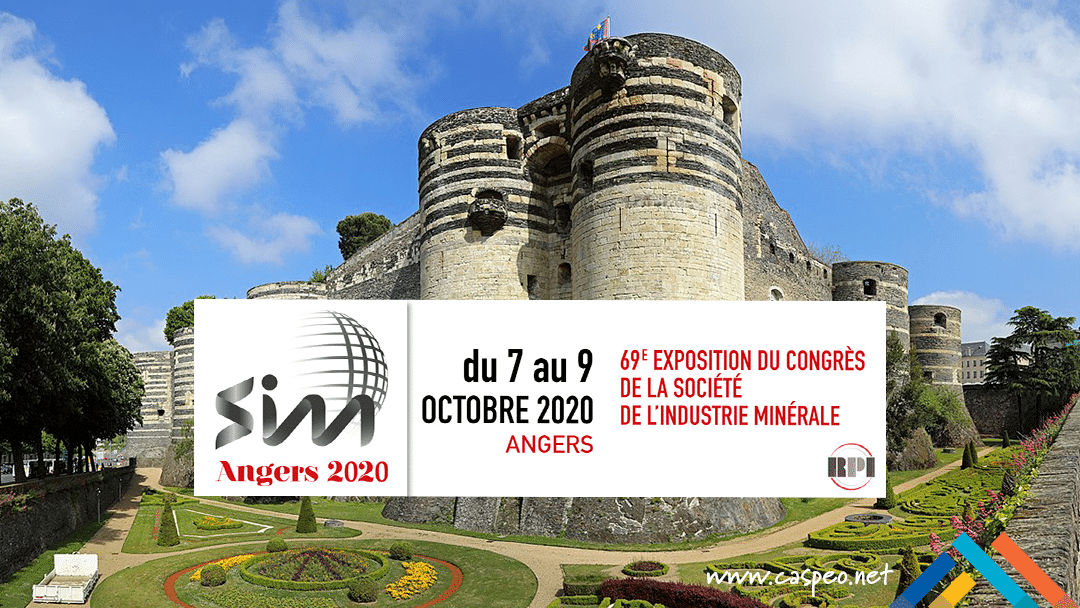 CASPEO at the French mineral processing congress SIM 2020