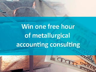 Game – Win one free hour of metallurgical accounting consulting